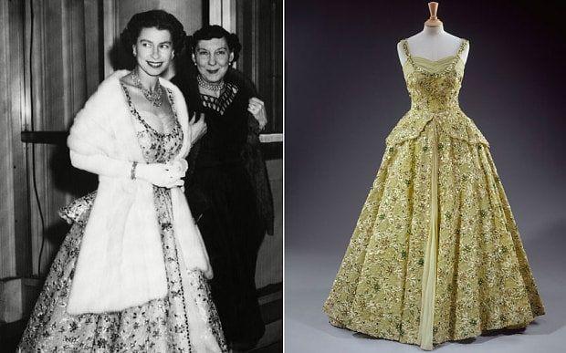 Evening dress in usa queen