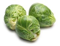 Is it weird that I LOVE brussel sprouts??? Yummy!