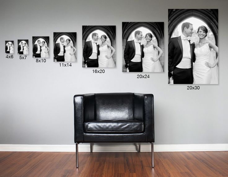 16x20 on wall sizing guide google search 11x14 picture on what is a wall id=56976