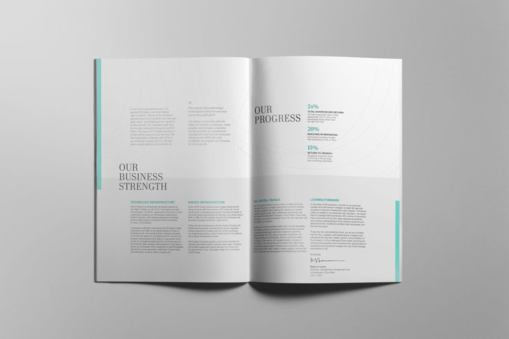 student brief_corporate report spread