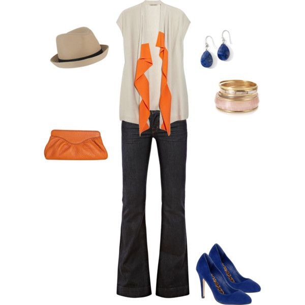 """""""Perfect transition outfit into fall..."""" by kateanfinson on Polyvore"""