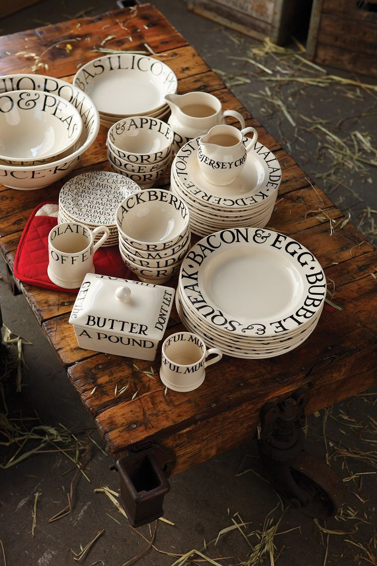 The Emma Bridgewater Black Toast range is quirky and perfect for brunch time