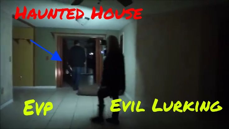 """HAUNTED NIGHT, """"PATTY'S FORMER HOUSE SAYING GOODBYE"""" """"EVIL LURKING"""""""