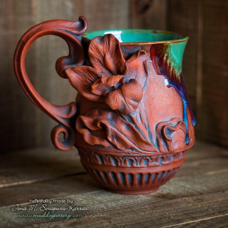 Louisiana Iris Coffee Mug ( The Creole Courtyard Collection )