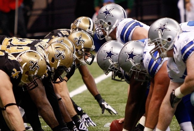 Saints vs Cowboys...Our other Rivalry. Can't wait for Nov 10th...Who Dat!!