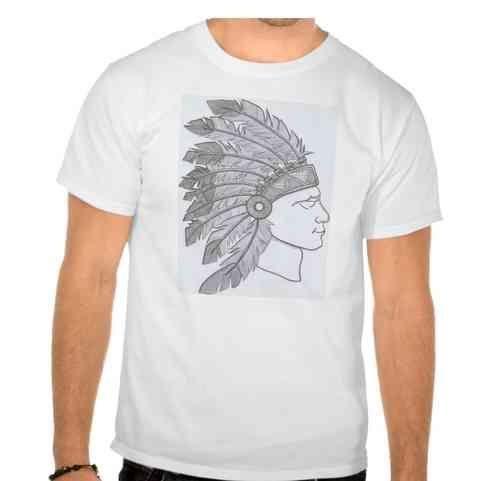 Camiseta Kazike  Indio Hombre