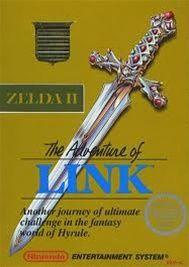 Adventure of Link (GOLD), Zelda II - NES Game