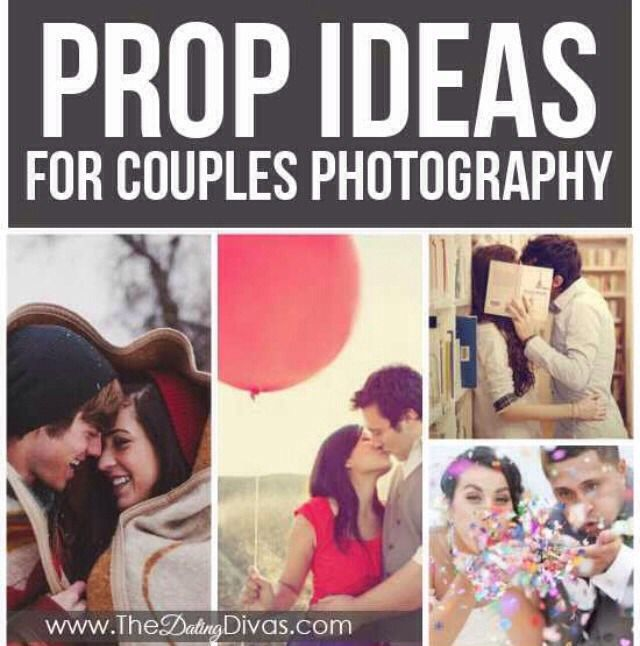 Couples Photography Prop Ideas #Relationships #Trusper #Tip