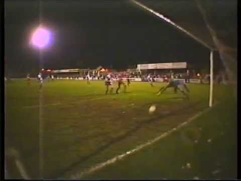 Kettering Town v Bristol Rovers -  2nd Round FA Cup 1988. Kettering Town a non league club knock our league club Bristol Rovers in the second round of the FA Cup reaching the third round proper when the then League 1 and 2 clubs joined the competion.