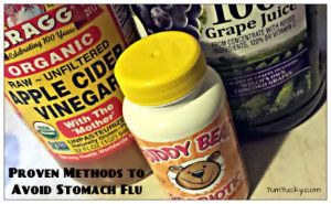 Natural ways to combat the stomach flu from hitting your house.