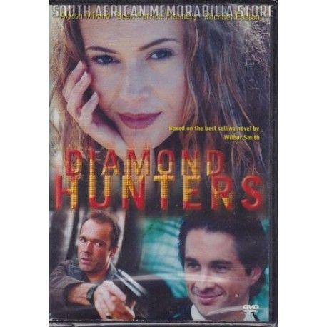 Diamond Hunters - Alyssa Milano & Sean Patrick Flannery South African DVD *New* - South African Memorabilia Store
