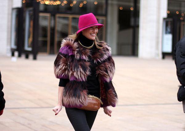 Fashion Weeks, New Yorker, Weeks Street, Fabulous Pink, Indiedaysin Family, Street Wear, Fabulous People, Pink Fedoras, Indieday Blogit