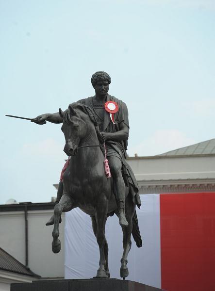 pomnik księcia Józefa Poniatowskiego Bertela Thorvaldsena, 1818