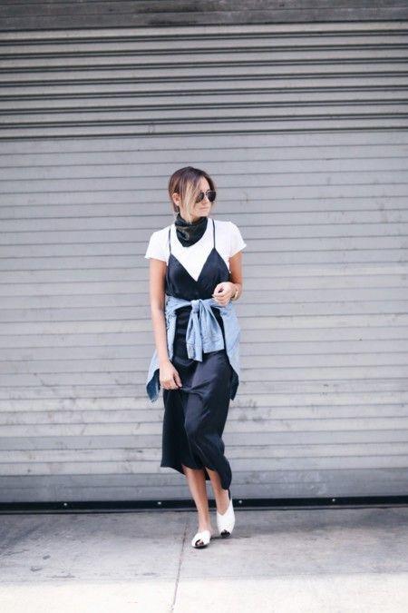 Vestidos Lenceros Camiseta Tendencia Blogs Moda 2016 3
