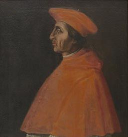 Cardinal Achille Grassi (1456-1523) Pope Innocent VIII appointed him an auditor of the Roman Rota. In 1503, he became chaplan of Pope Julius II. The pope named him rector of San Clemente, San Giovanni in Persiceto. He then became a Referendary in the Roman Curia