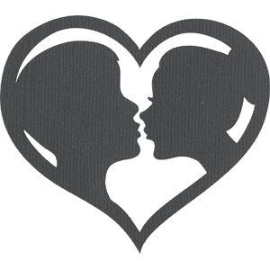 Silhouette Design Store - View Design #1292: Wedding Cameo