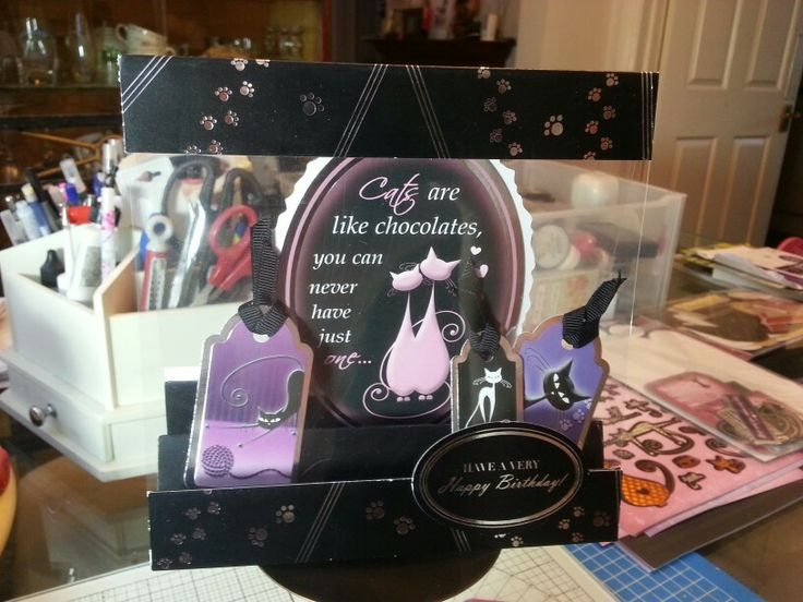 The cats meow (old hunkydory kit)