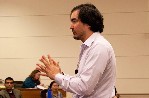 Tim Wu presents at Stanford University