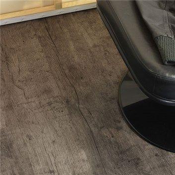 Laminatgolv Quick-Step CREO - 700 Ek Plank Klassisk Gråoljad