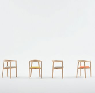 Uxi Armchair | Furniture Options. Made in Poland, European beech timber tub chair.