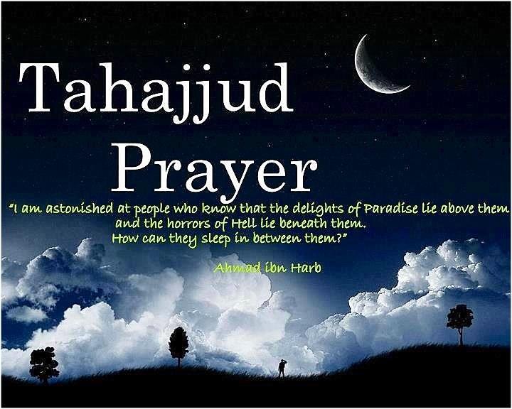 Tahajjud prayers