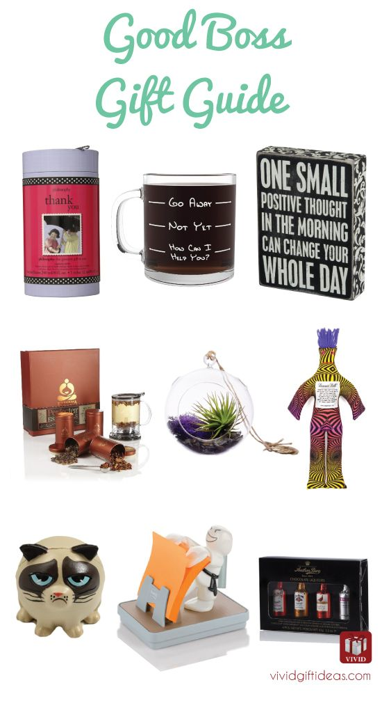 List Of 9 Good Gift Ideas For Boss Bosses Day Gifts