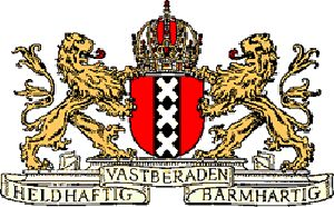 Amsterdam Coat of Arms XXX. Amsterdam City Symbol