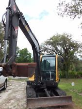 2004/05 Hydraulic Mini Excavator Backhoe Rubber Tracks Aux VOLVO EC55BPRO ENCLOS apply to finance www.bncfin.com/apply excavators for sale - excavator financing