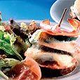 Torentjes van Courgette, aubergine en mozzarella