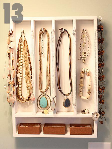 bijoux: Jewelry Storage, Craft, Jewelry Display, Storage Ideas, Diy, Jewelry Holder