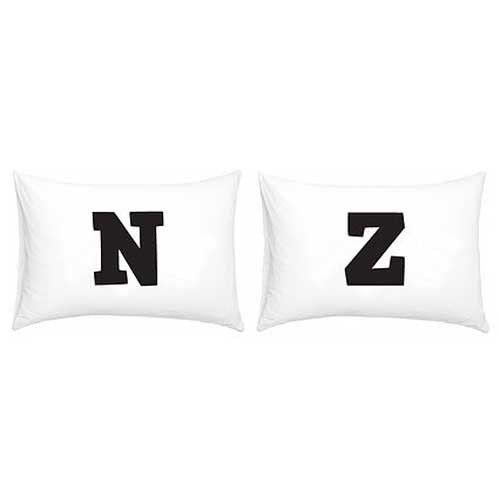 New Zealand NZ Double Pillowcase Set