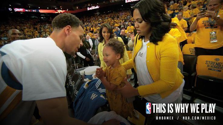 Lo que realmente importa al final del día es la familia. #Family #Daughter #Hija #Esposa #Amor #Padre #Hija #Love #Proud #Curry #Stephen #Warriors