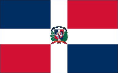 Bandera de República Dominicana (#Flag of #Dominican #Republic)