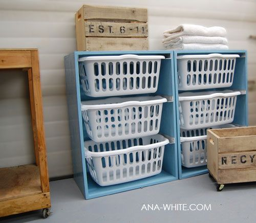 laundry organized...: Houses, Clothing, Laundry Basket Dresser, Laundry Rooms, Great Ideas, Diy, Laundry Baskets Dressers, Laundry Organizations, Toys Storage