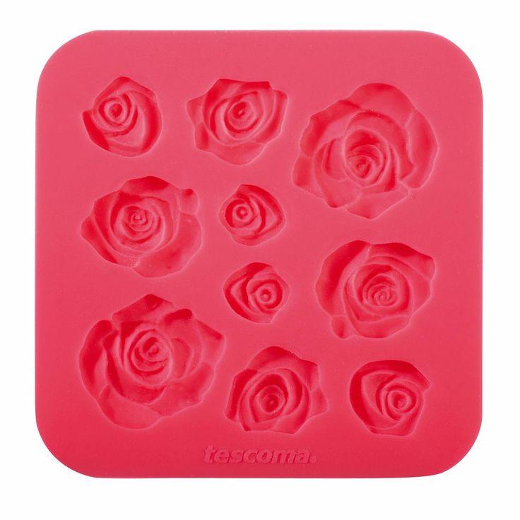 Forma silikonowa do masy cukrowej róża / różyczki