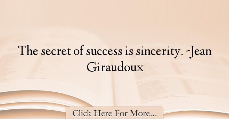 Jean Giraudoux Quotes About Success - 65839