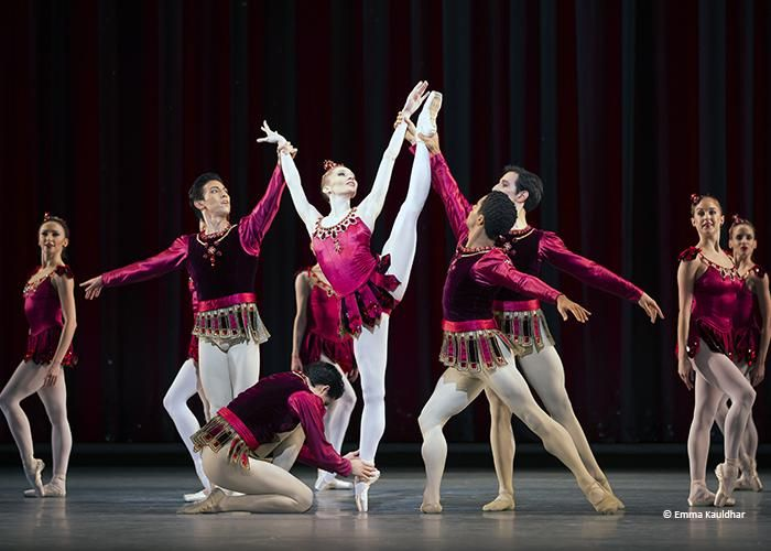 The Royal Ballet - Melissa Hamilton in Balanchine's Rubies - by courtesy of the ROH.