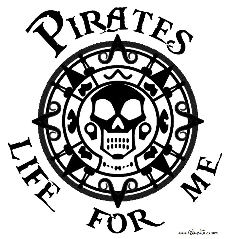 Pirates Life For Me. (Happy Talk Like a Pirate Day!)