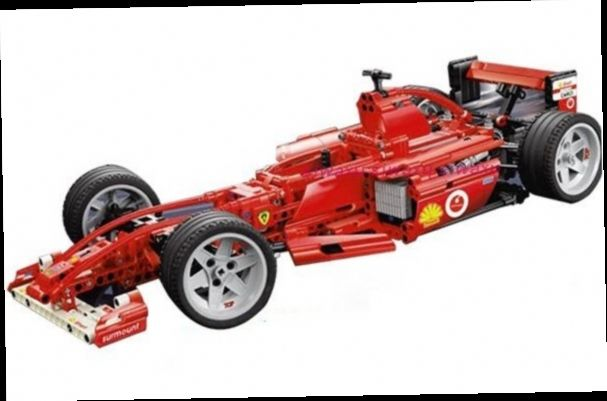 43.00$  Buy now - http://alilyp.worldwells.pw/go.php?t=32570277069 - building block set compatible with lego city racing car f1 1/10 3D Construction Brick Educational Hobbies Toys for Kids 43.00$