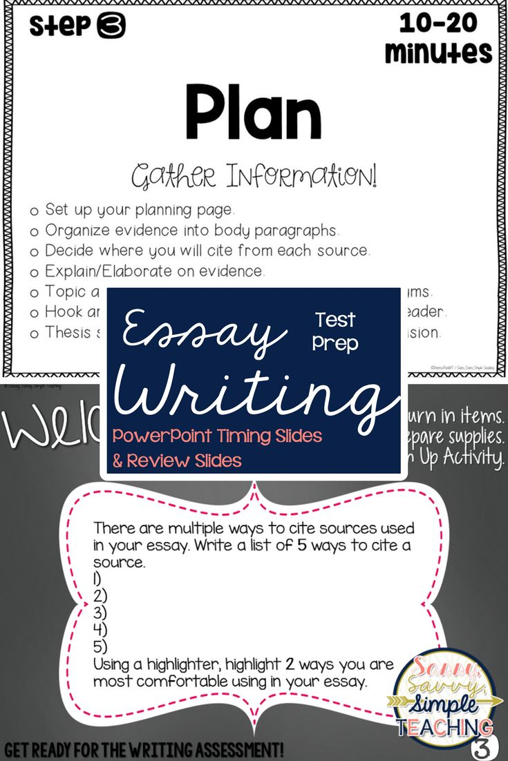Essay Writing Test Prep! FREE Timing slides! Also, Test Prep review slides for Opinion and Informational State Essay Assessments! Help prepare your students for this timed writing assessment! Tips, ideas and more on the blog!