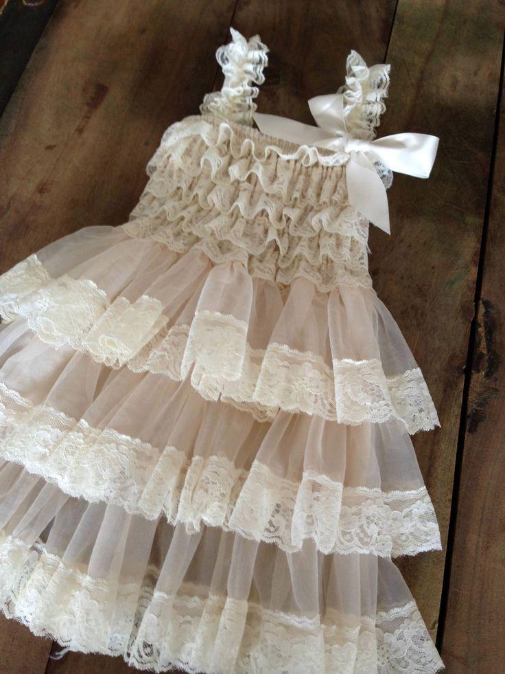 Flower Girl Dress  Lace Flower girl for zoey!
