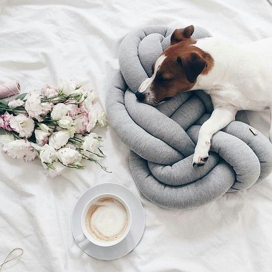 dodatki - poduszki, poszewki-Supeł Pillow