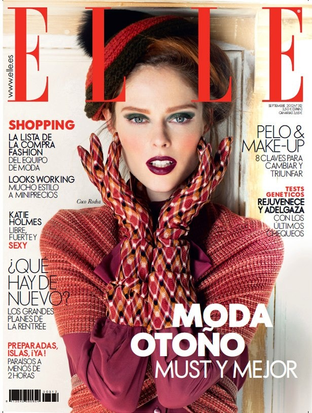 Elle. The September Issue. Coco Rocha