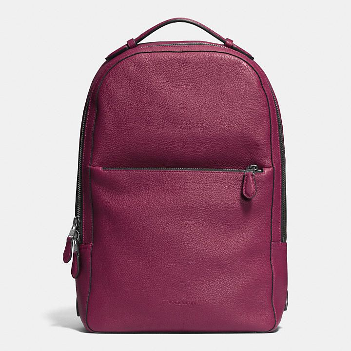 302091c8440f ... Coach Malaysia Official pageMETROPOLITAN SOFT BACKPACK IN REFINED  PEBBLE LEATHER ...