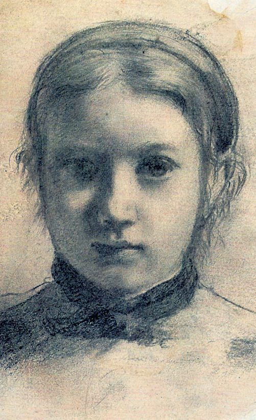 Edgar Degas . Drawing. Recommended by Andrea Beaty, author of Artist Ted.