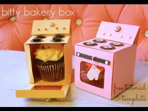 Oven Cupcake Box: Made By Marzipan