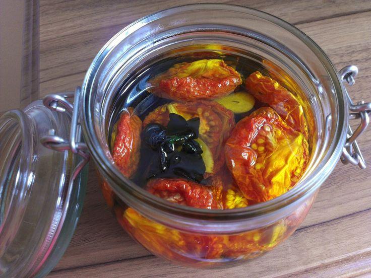 Sušená rajčata / Zrzka v kuchyni
