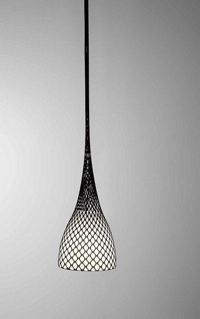 thedesignwalker:  Weavers - Pendant lamp   lighting . Beleuchtung . luminaires   Design: Enrico Azzimonti   Bilumen  : Luminaire Design