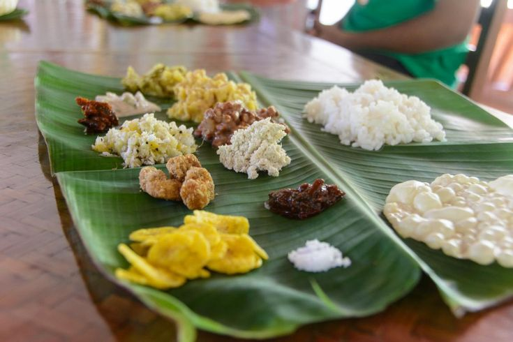 Die richtige Ernährung spielt eine große Rolle bei der Ayurveda-Kur. Hier isst auch das Auge mit.