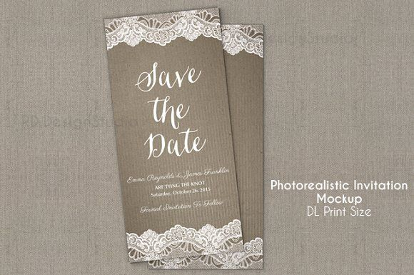 Free Mockups Download DL invitation/flyer Mockup Free PSD Mockups Templates for: Magazine Book Stationery and other